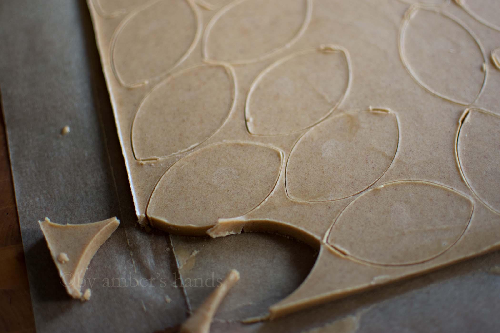Chocolate Peanut Butter Footballs -keto cake walk-