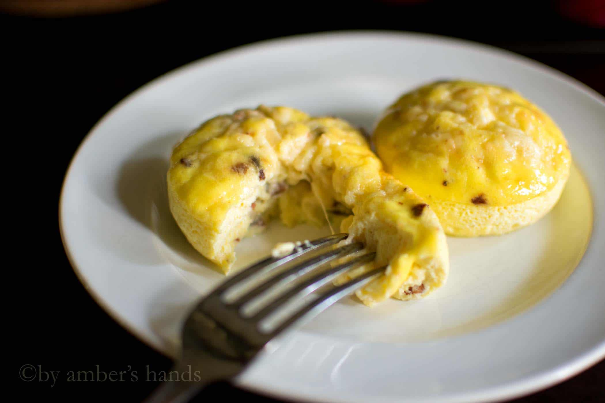 Bacon Gruyere Egg Bites -- No Sous Vide Needed -keto cake walk-